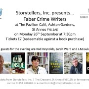 Faber Crime Writers Evening